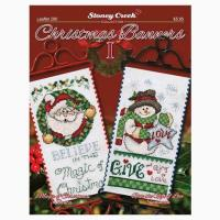 Christmas Banners I From Stoney Creek Collection - Cross ...