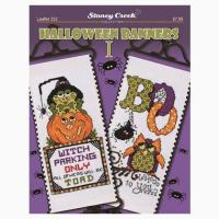 Halloween Banners I From Stoney Creek Collection - Cross ...