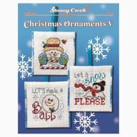 Christmas Ornaments V From Stoney Creek Collection - Cross ...