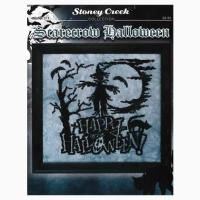 Scarecrow Halloween From Stoney Creek Collection - Cross ...