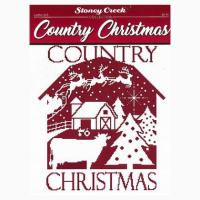 Country Christmas From Stoney Creek Collection - Cross ...