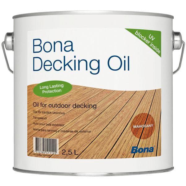 Bona Decking Oil   2,5L – Mahogany