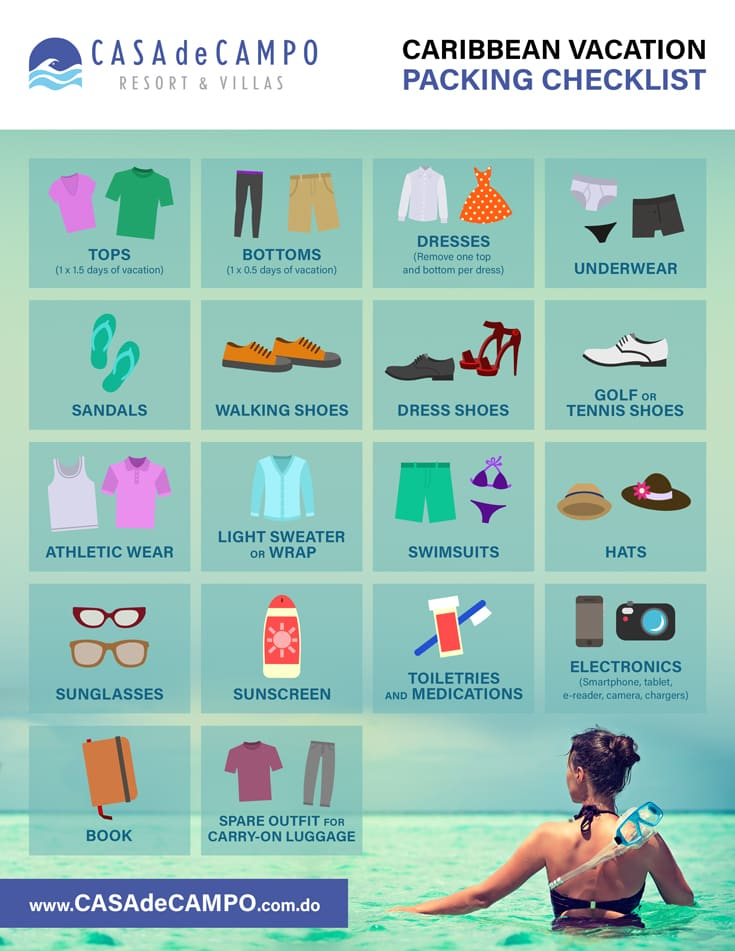 How To Pack For Your Caribbean Vacation Casa de Campo