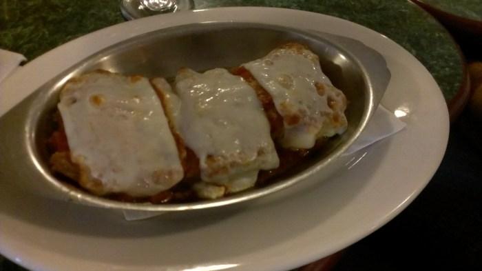 eggplant rollatini --Stassi's Italian Grill