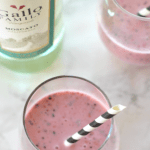 Mixed Berry Moscato Smoothie for #SundaySupper
