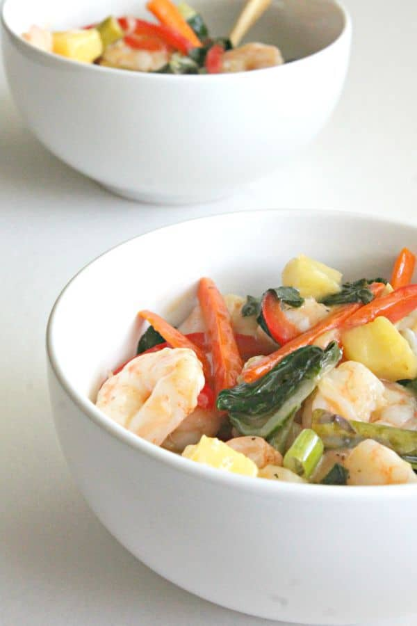 Tropical Shrimp Stir-Fry