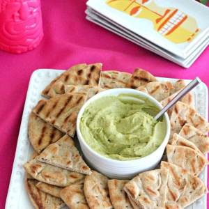 What to bring to your neighbor's pool party: avocado hummus