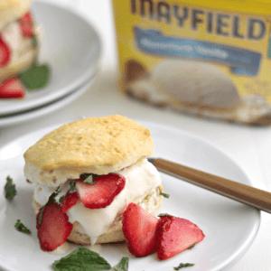 Strawberry Ice Cream Shortcake