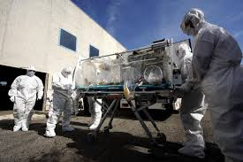 Trasporto paziente contagiato da Ebola