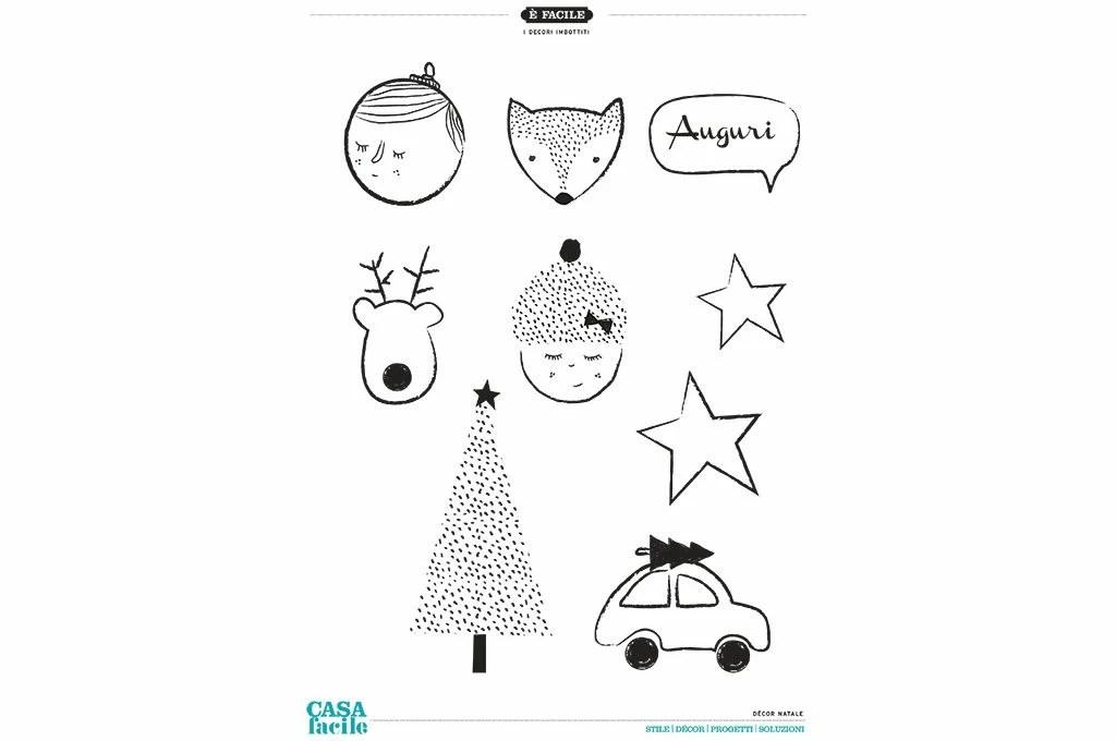 Sagoma Di Renna Sagoma Renna Per Natale Da Stampare Tutto