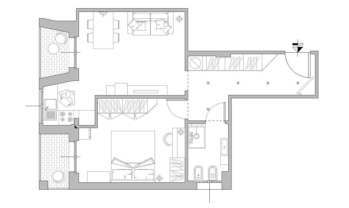 piantina appartamento con misure auto electrical wiring diagramprogetto appartamento 90 mq