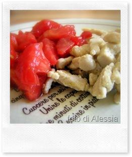 Ricette veloci: straccetti al vino bianco e pomodori