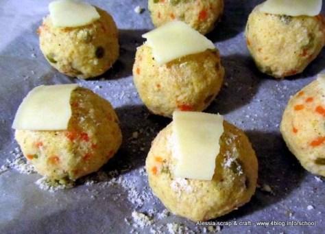 Ricette veloci: polpettine vegetariane in forno