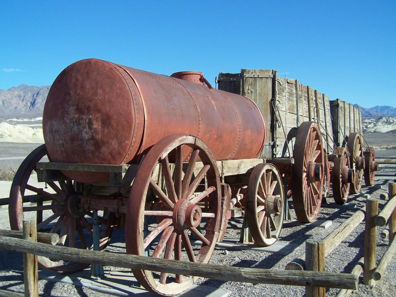 20 Mule Team Wagon