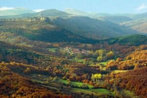 Población de Arreba está cerca de Orbaneja del Castillo y los cañones del Ebro
