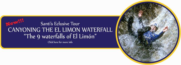 canyoning el limon