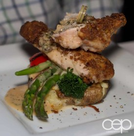 The Amarula Chicken at The Martini House in Burlington, ON