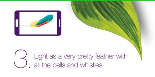 Casey Palmer and TELUS Mobility Present — 5 Things You NEED to Know About the Samsung Galaxy S6 — 3. Light as a Very Pretty Feather with all the Bells and Whistles