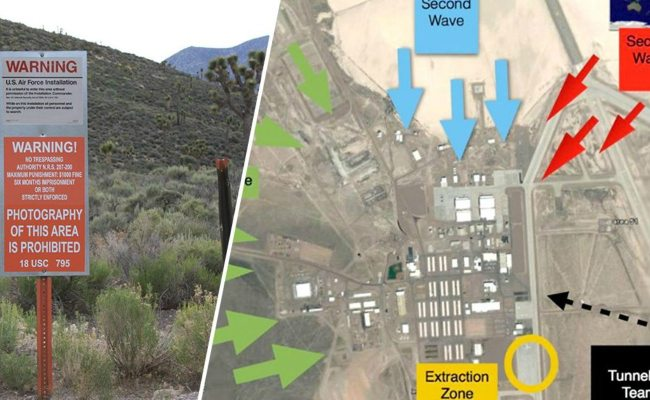 No Joke Storm Area 51 Raid Launches Extraterrestrial Odds On Alien Pilgrimage Outcome