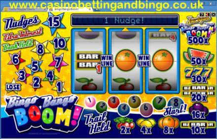 Bingo Bango Boom Fruit Machine