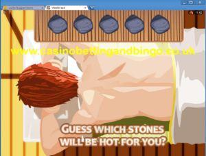 Wealth Spa Slots - Hot Stone Bonus Screen