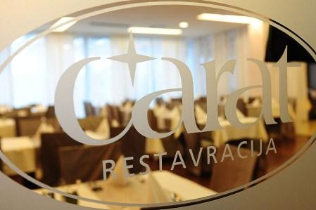 Restavracija Carat vhod
