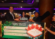 Ganadora premio Dreams Casino