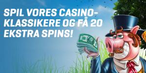 Forårsrengøring med ekstra spins på flere casinoer