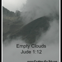 Empty Clouds- Jude 1:12