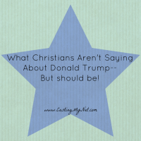 What Christians Aren't Saying About Donald Trump