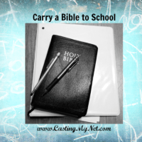 Carry a Bible to School!