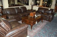 Leather Living Room - Castle Fine Furniture