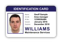 Photo ID Card Design