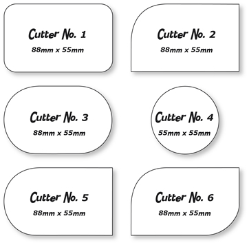Shaped Business Cards Custom Die Cut Shaped Cards