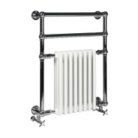 Vivien 8 Shallow Profile Wall Mounted traditional heated ...