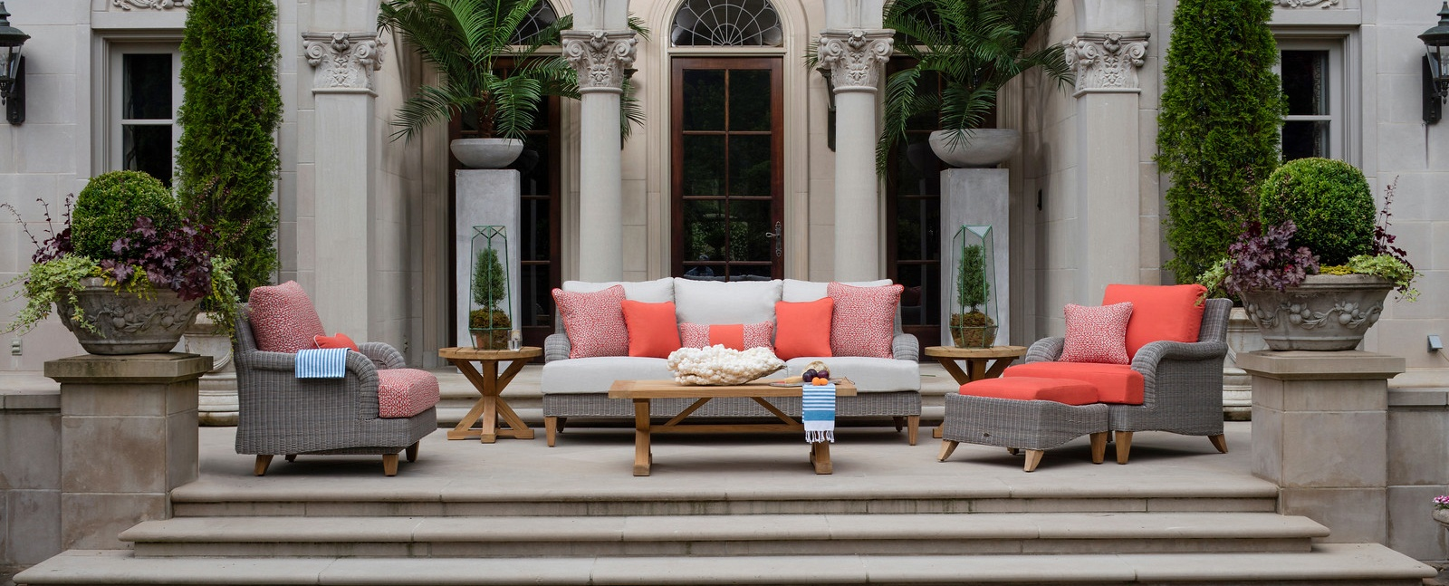 Casual Creations Patio Fireplace Outdoor Furniture