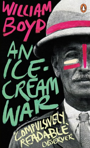 An Ice Cream War by William Boyd; design by Joe Cruz