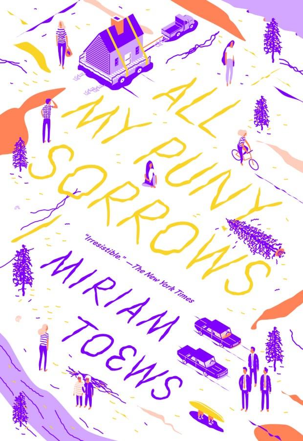 All My Puny Sorrows design Sunra Thompson