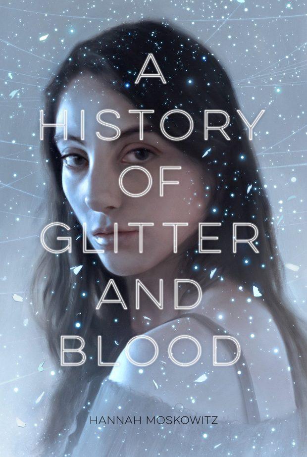 History of Blood and Glitter design Kelsey Premo Jones cover art Sam Weber