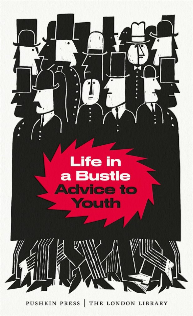 Life in a Bustle design David Pearson