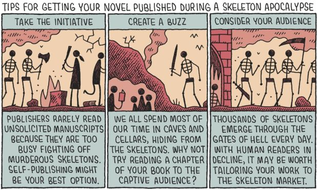 Tom Gauld for The Guardian.