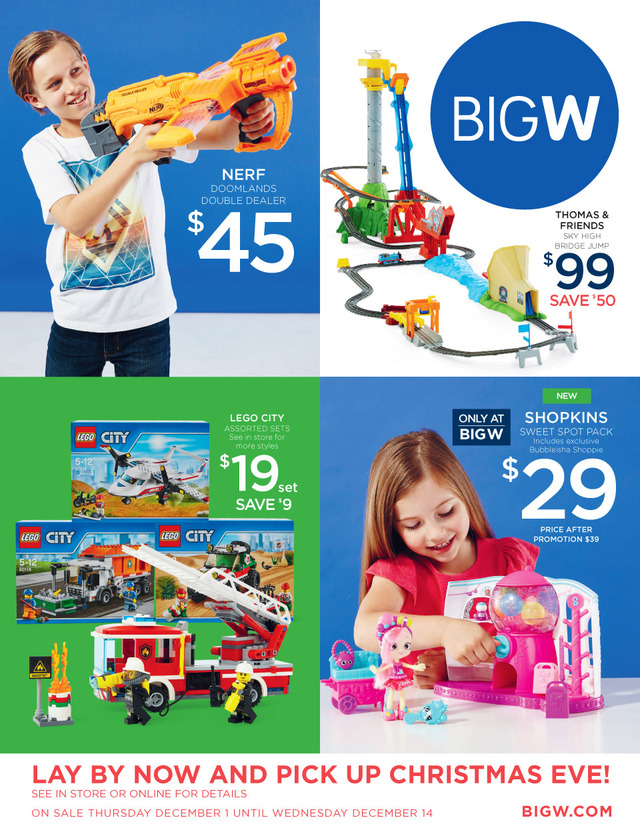 Big W Christmas Catalogue Toys 1 - 14 December 2016 - christmas toy sales