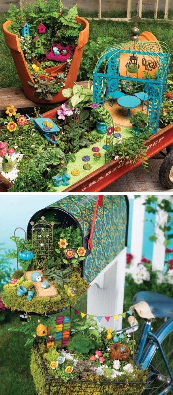 Excellent Gypsy Garden By Studio M Fairy Garden Items That Make You Smile Gift Ideas News New Fairy Garden garden New Creative Fairy Garden