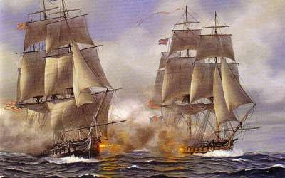 August 19th, 1812 | USS Constitution Defeats HMS Guerriere