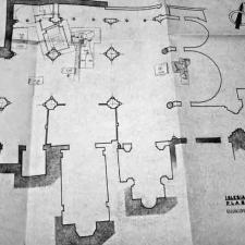 Plano excavación Pedro A. San Martín Moro - 1958