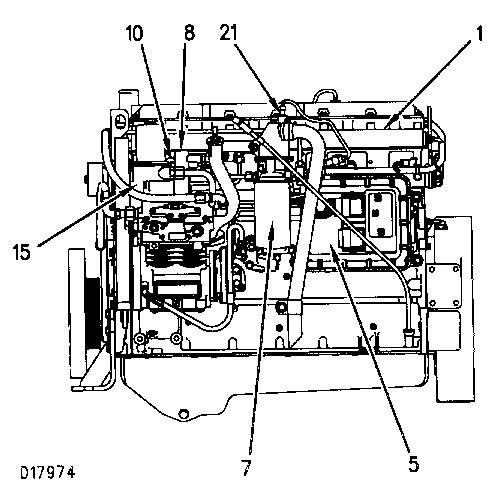 cat 3126b fuel injector wiring harness