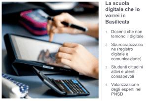 la scuola digitale in basilicata