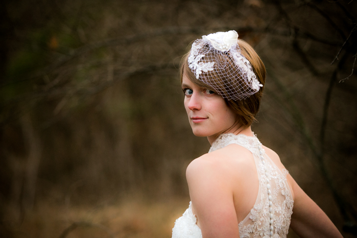 Minnesota Wedding Photographers for a Ohio Winter Bridal Session