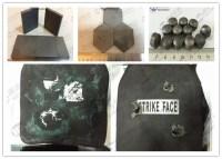 NIJ IV M2 AP Bulletproof Plates , Kevlar Ballistic SiC ...