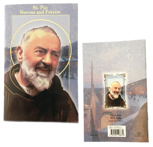 Saint Padre Pio Novena Prayer Pamphlet - 10 Per Pack